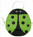 Green Ladybird Children's Apron